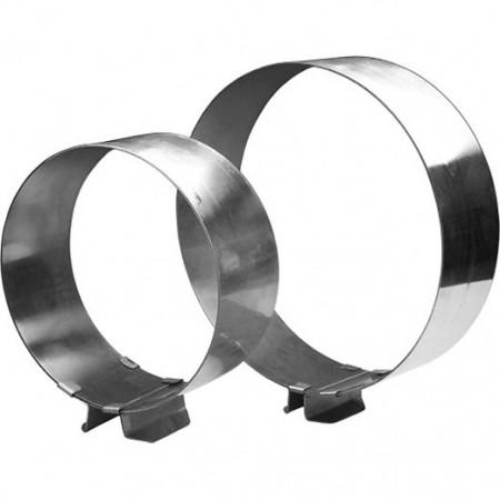 Кольцо разъемное для выпечки и сборки тортов 160х300/65 мм