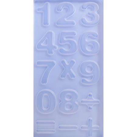"""Форма пластиковая """"Цифры"""" 15 шт. L=3.5см"""