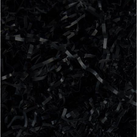 Наполнитель бумажный черный 1 кг (130)