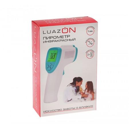 Термометр/пирометр LuazON LTR 2*ААА(не в комп) с подсветкой
