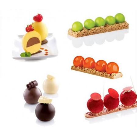 Форма для муссовых десертов Silikomart Mini Truffless Китай