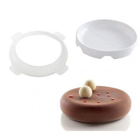Форма для муссовых десертов Silikomart Eclipse Китай