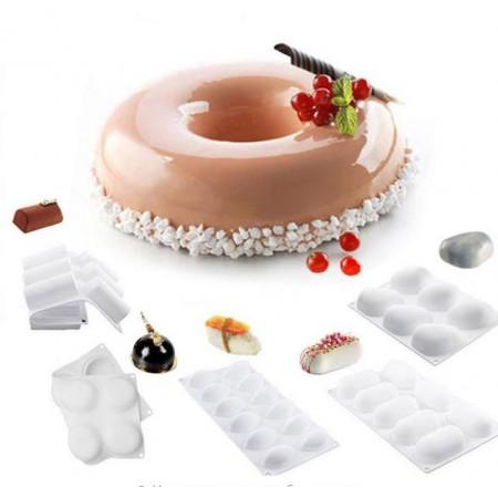 Форма для муссовых десертов Silikomart (Набор 6 шт Китай)