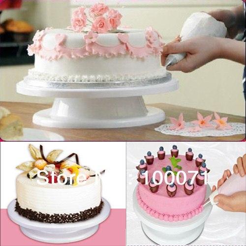 Вращающаяся подставка для украшения торта