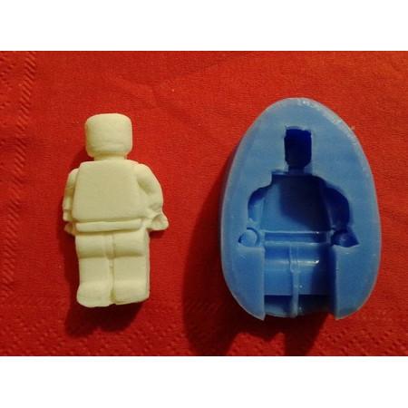 """Молд """"Лего человечек"""" 2,4*4см"""