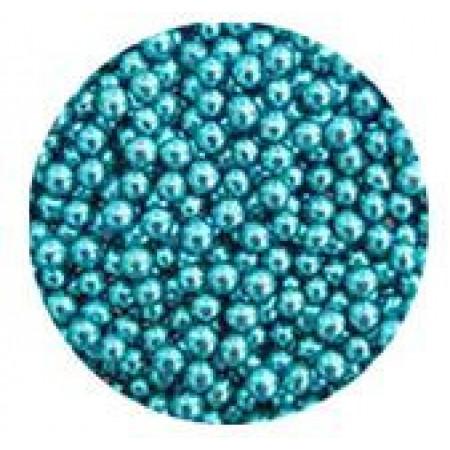 Посыпка шарики голубые 5 мм 50 грамм