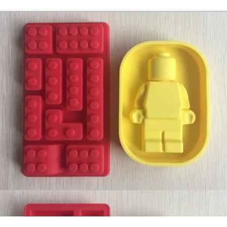 """Молд """"Лего + робот №1"""""""