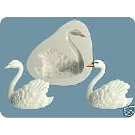 "Молд ""Лебедь"" левый бок 6*5,5см"