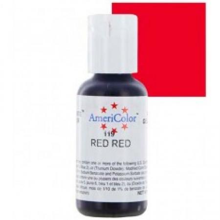 """Гелевый краситель """"Red Red"""" (красный) """"Americolor"""""""