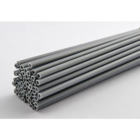Палочки для кейк-попсов 15 см 50шт серебро