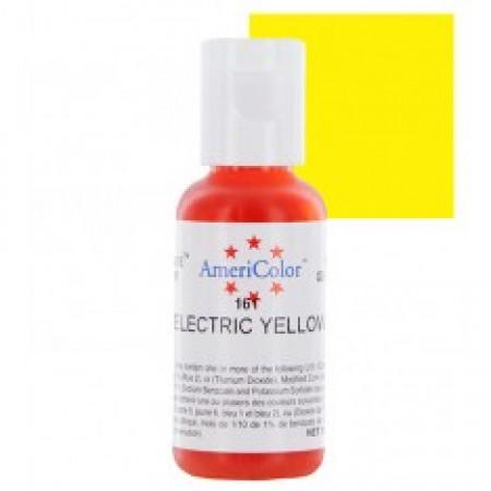 "Гелевый краситель ""Electric yellow"" (электрик- желтый) ""Americolor"""