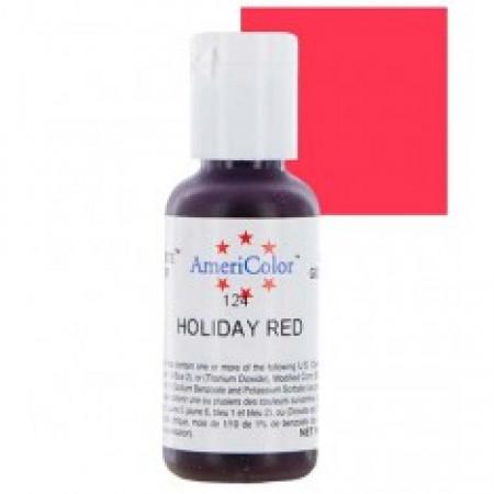 """Гелевый краситель """"Holiday red"""" (бледно красный) """"Americolor"""""""