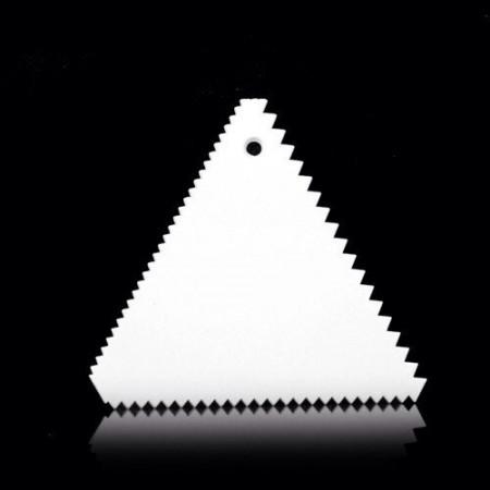 """Шпатель пластиковый """"Треугольник"""" 10х10х11 см"""
