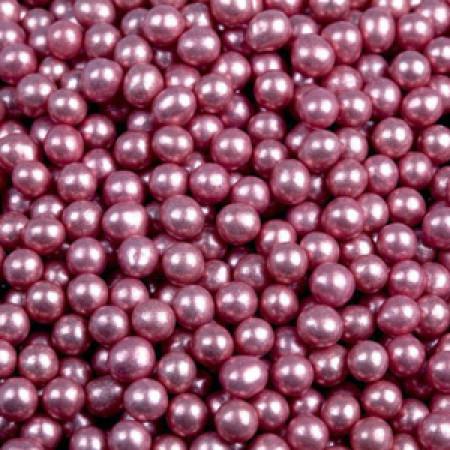 Посыпка шарики розовые 5 мм 50 грамм
