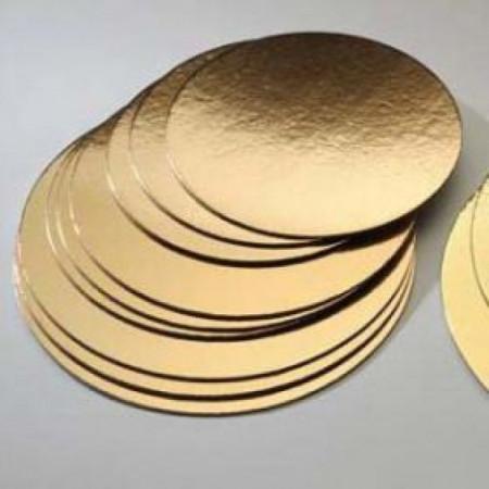 Подложка картонная золото 0.8мм д. 220мм