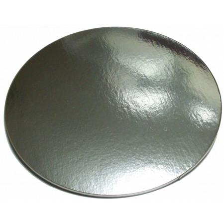 Подложка картонная серебро 0.8мм д.90мм