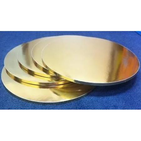 Поднос 340мм gold 5 мм