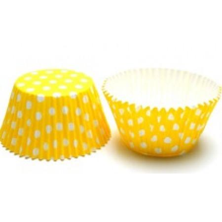 Капсулы бумажные 50х40 желтый горох 10шт