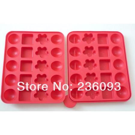 Форма силиконовая для кейкпопсов №2