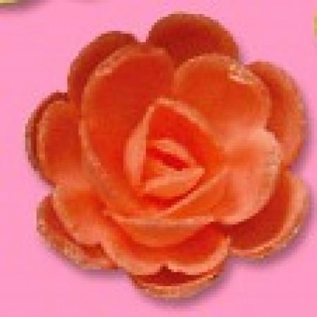 Розы вафельные КРАСНЫЕ малые сложные
