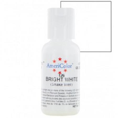 """Гелевый краситель """"Bright white"""" (белый) """"Americolor"""""""
