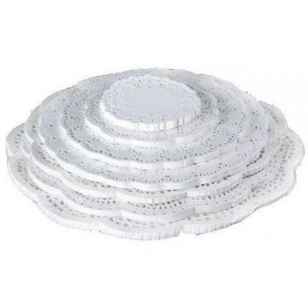 Салфетки бумажные диаметр 28 см 250 шт