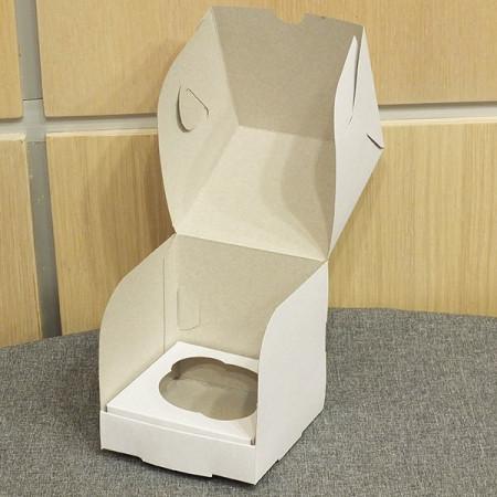 Коробка на 1 капкейк 10*10*10 см