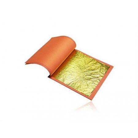 Сусальное золото 25 листов 15*15