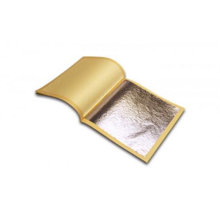 Сусальное серебро 25 листов 15*15