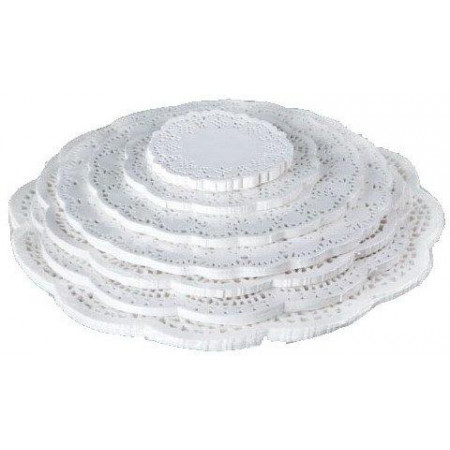 Салфетки бумажные диаметр 20 см 250 шт