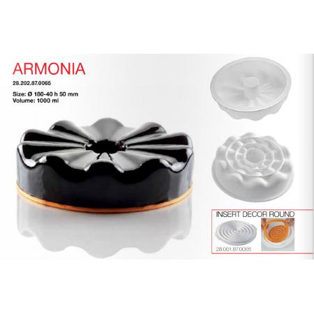Форма для муссовых десертов Silikomart Armonia Китай