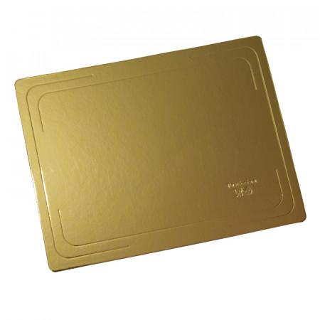 Подложка 400х600 мм толщина 3,2 мм золото/жемчуг