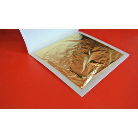 Сусальное золото пищевое лист 90*90 мм