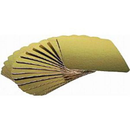 Подложка картонная золото 0.8мм кв 280*280 мм