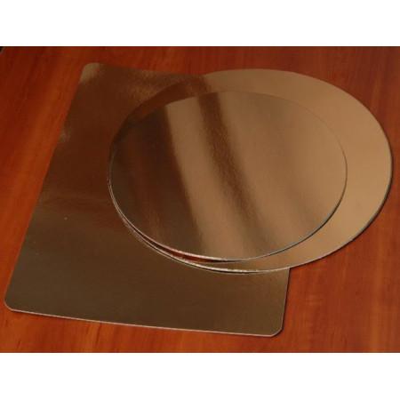 Подложка картонная золото 2.5мм д.360мм