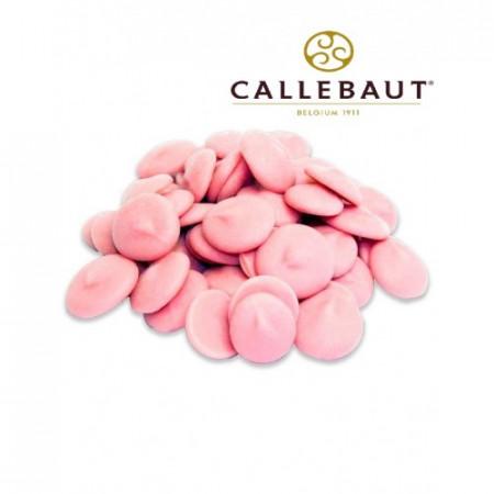 Шоколад CALLEBAUT розовый 100 грамм
