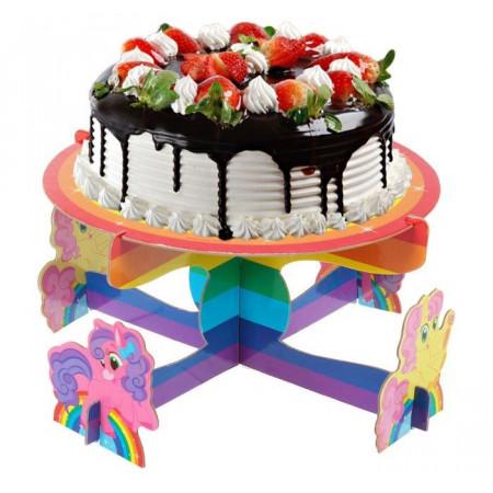 """Подставка под торт """"С Днём Рождения"""", пони"""