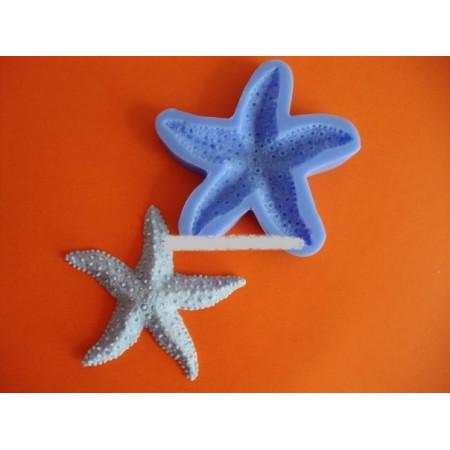 "Молд ""Морская звезда 2"" диаметр 9 см"