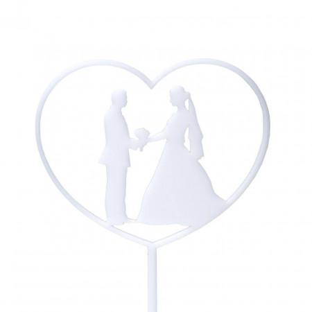Топпер свадебный в торт  Pair 05-15w