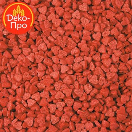 """Посыпки """"Сердечки красные мини"""" 50 грамм"""