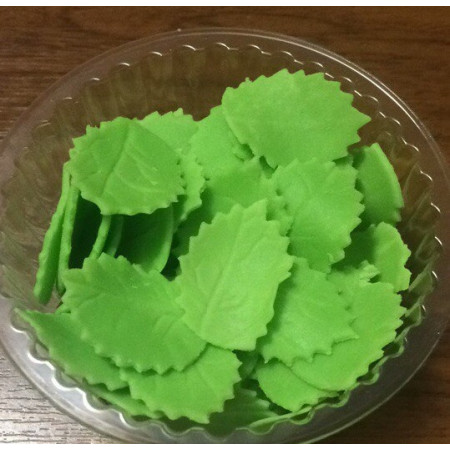 Листья зеленые 70 гр 3,2 см