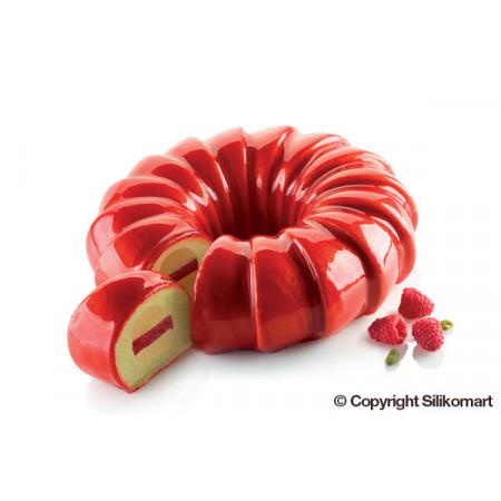 Форма для муссовых десертов Silikomart Kit Red Tail Китай