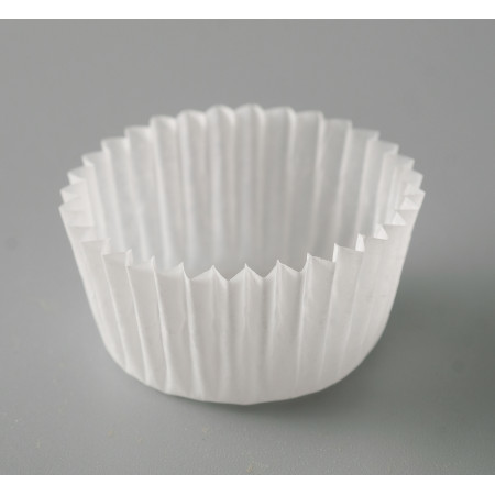 Капсулы бумажные белые №5 d22* h15,5мм 50шт