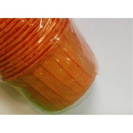 """Капсулы для маффин """"Оранжевый"""" D50/H40"""