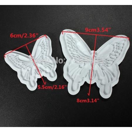 """Вырубка """"Бабочки"""" 2 размера"""