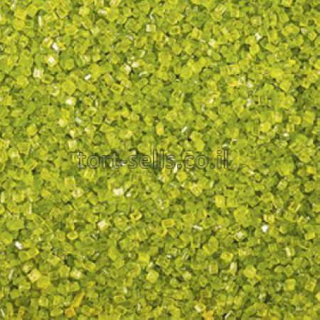 Посыпка кристалл светло-зеленая 100 грамм