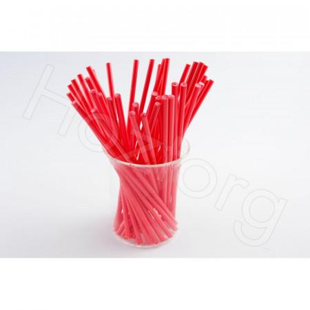 Палочки для кейк-попсов 15 см 50шт красные