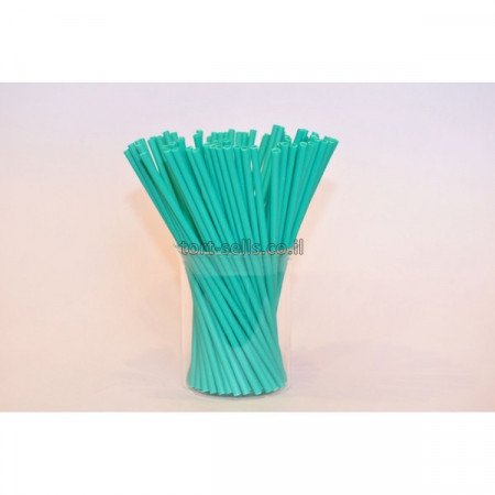 Палочки для кейк-попсов 15 см 50шт бирюзовые