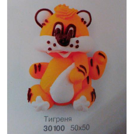 """Сахарный декор """"Тигренок"""""""