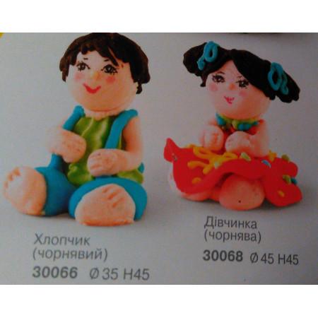 """Сахарный декор """"Мальчик и девочка"""""""